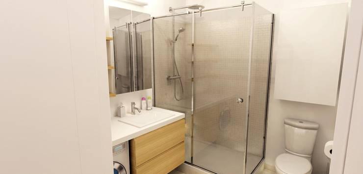 Salle de douche: Salle de bain de style de style Moderne par Design By Solène Utard