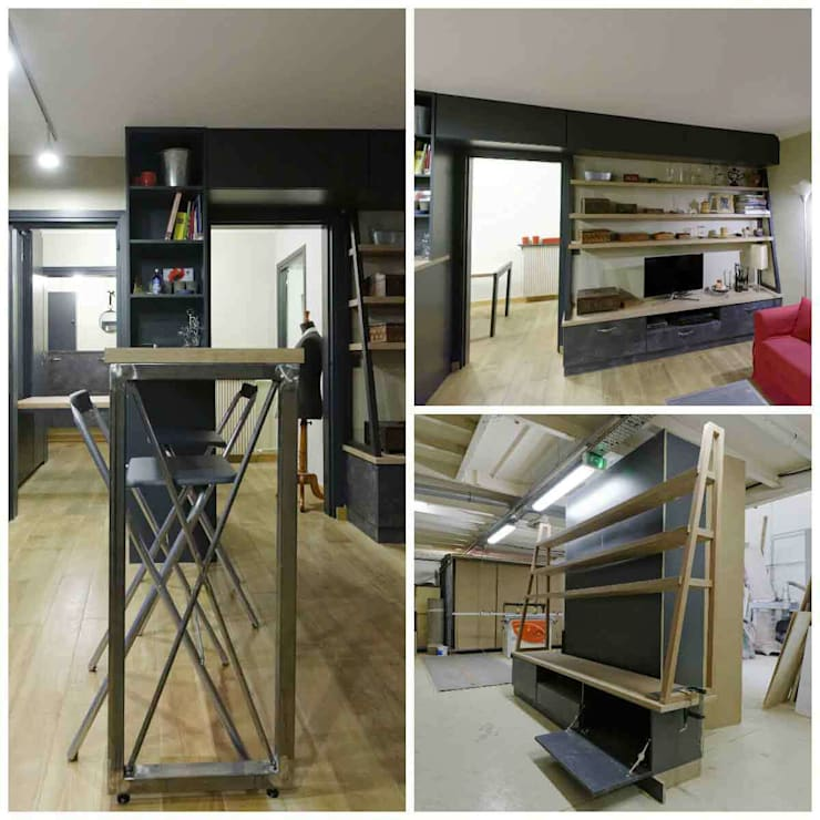 Living room by Design By Solène Utard