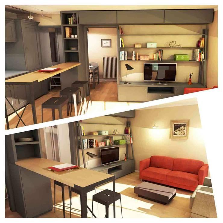 Dining room by Design By Solène Utard