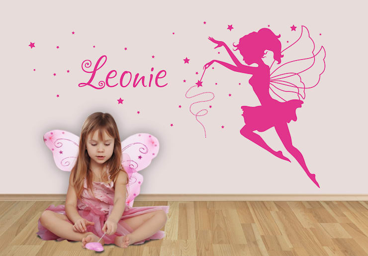 Wandtattoo + Name Fee :  Kinderzimmer von K&L Wall Art