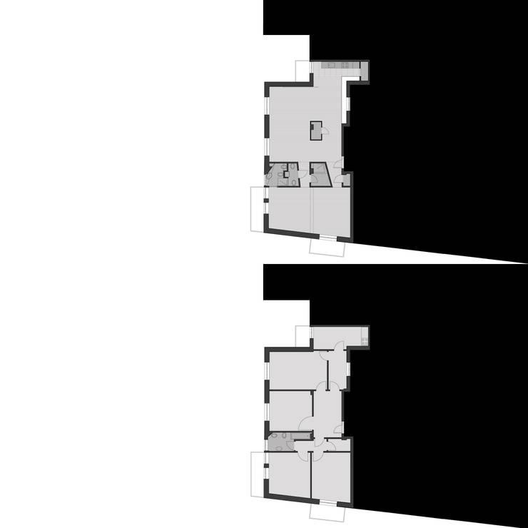 CASA GUGLIELMA:  in stile  di DELISABATINI architetti