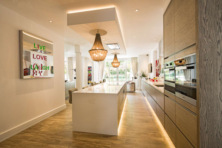 Templewood Avenue, NW3: modern Kitchen by XUL Architecture