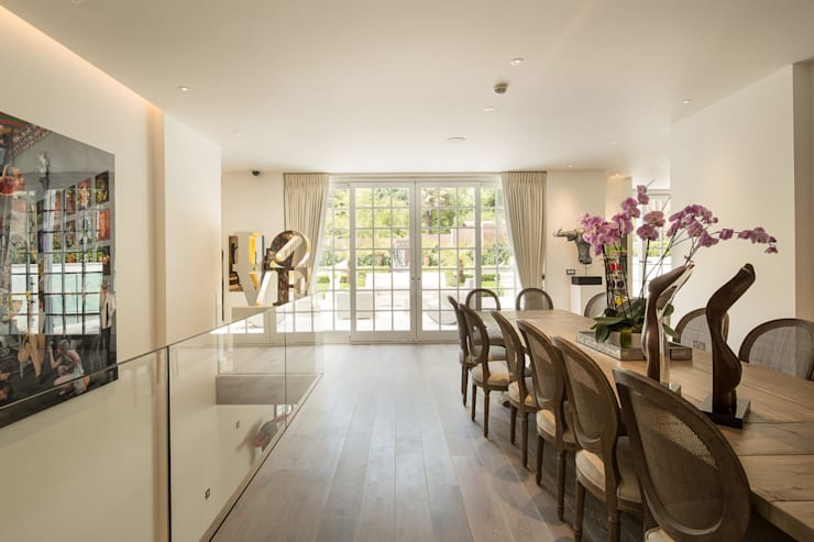 Templewood Avenue, NW3: modern Dining room by XUL Architecture