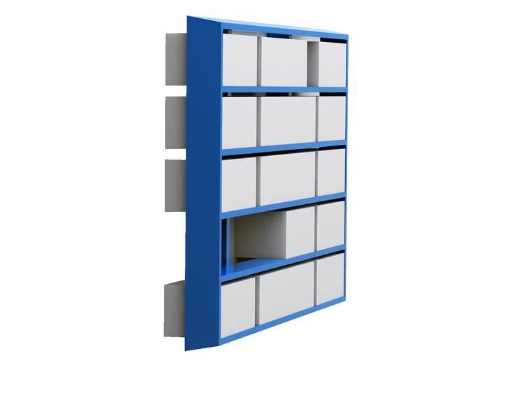 Bibliothèque Wallbook: Bureau de style  par MALHERBE EDITION