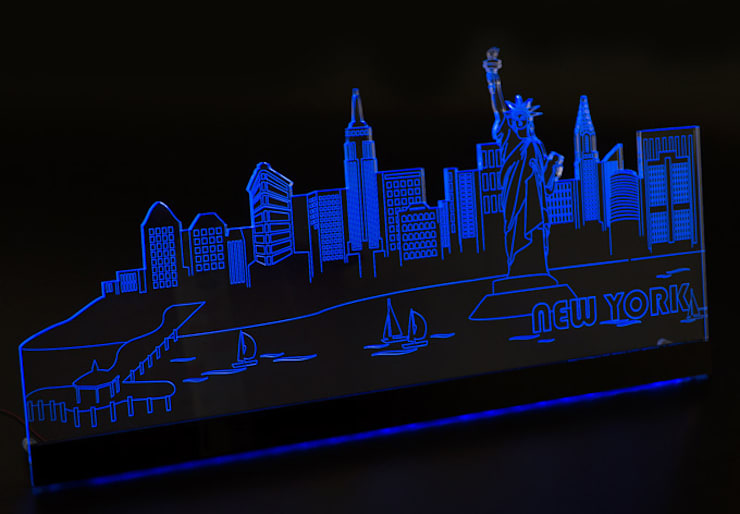 alenioLights New York :  Kunst  von K&L Wall Art