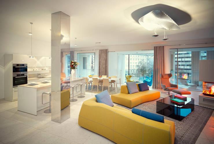 Wohnraum: moderne Wohnzimmer von stephan möbel