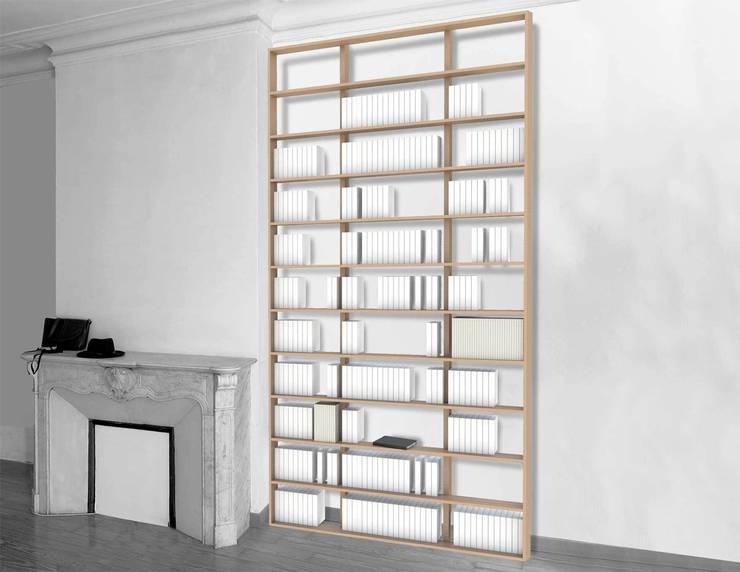 Bibliothèque Wallbooks: Bureau de style  par MALHERBE EDITION