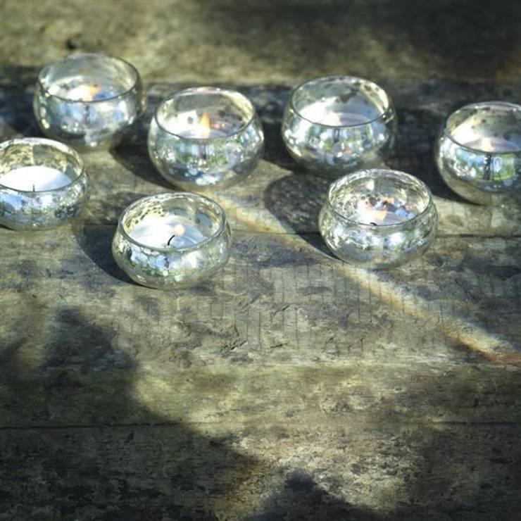 Arvari T-light holders (set of 3):  Household by Decorum