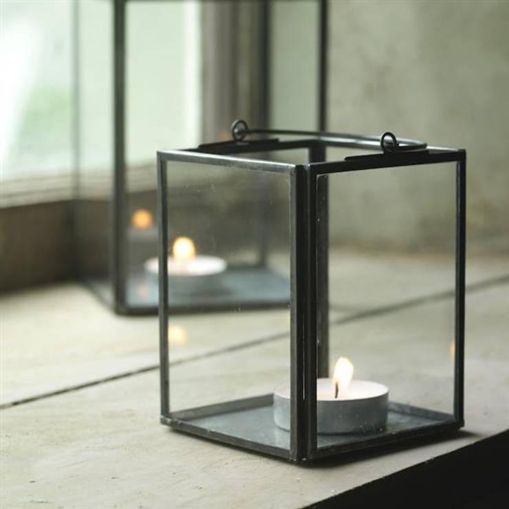 Box Lantern (set of 2):  Household by Decorum