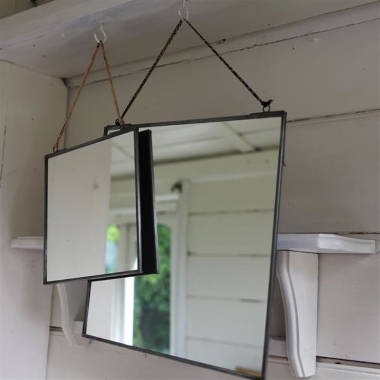 Kiko Zinc mirrors:  Dressing room by Decorum