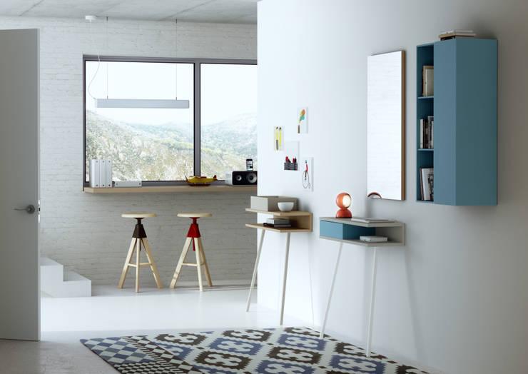 Passing: Dormitorios de estilo  de CrousCalogero