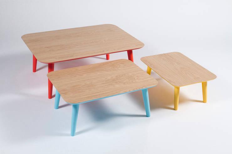 skandinavische Wohnzimmer von Muka Design Lab