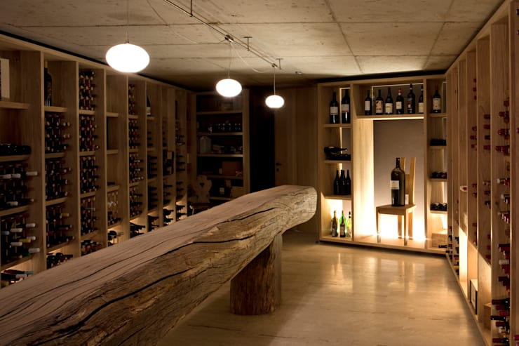 Wine cellar by MoDus Architects