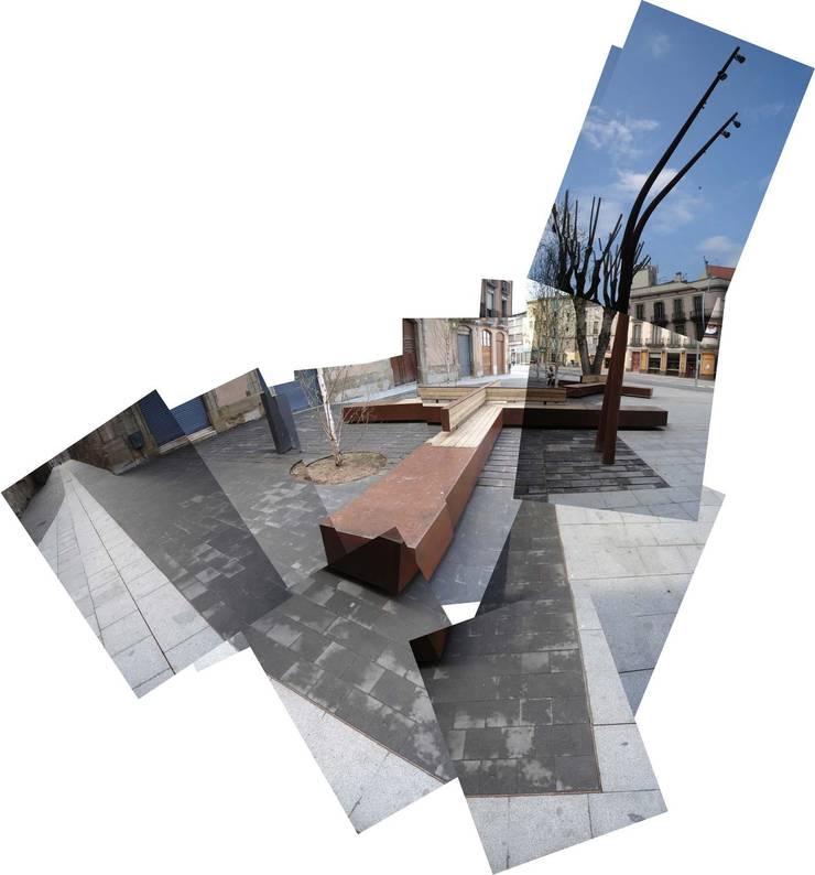 Jardines de estilo  por Dc arquitects