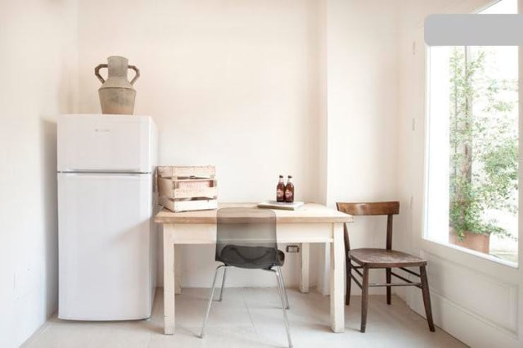 living: Cucina in stile in stile Eclettico di meb progetto ambiente