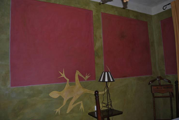 Cemento pulido: Paredes y suelos de estilo mediterráneo de Anticuable.com