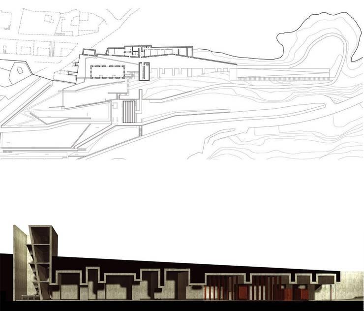 MUSEO NIVOLA:  in stile  di DELISABATINI architetti