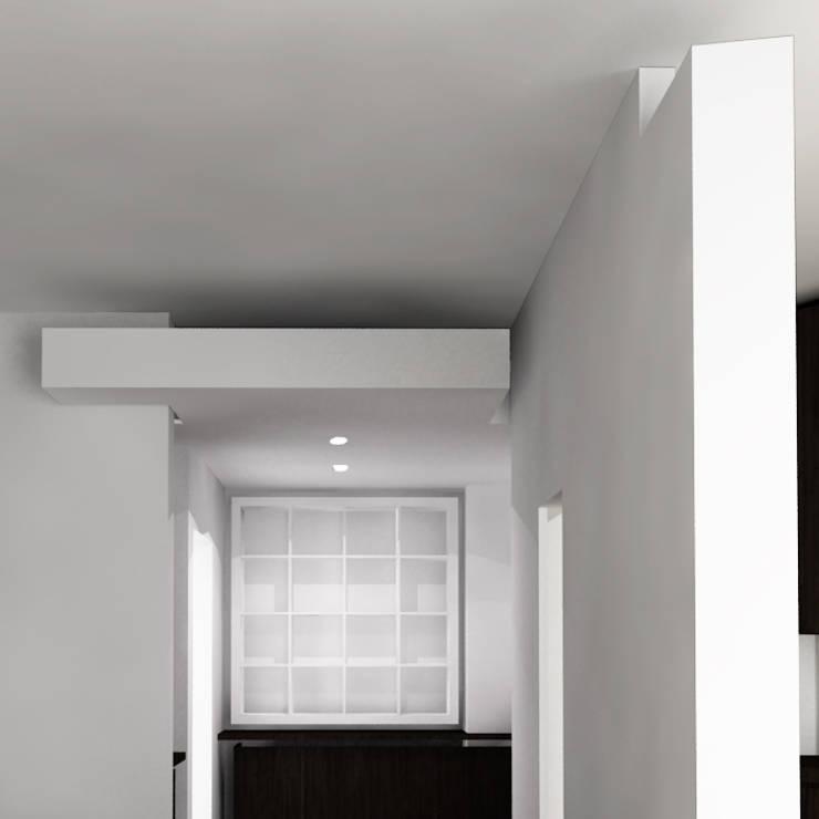 Salas de estilo  por DELISABATINI architetti