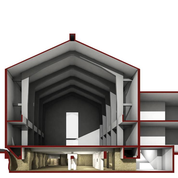 CRIPTA:  in stile  di DELISABATINI architetti