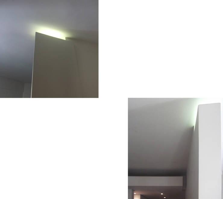 Paredes y pisos de estilo  por DELISABATINI architetti