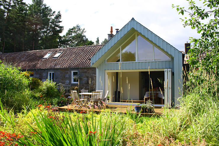 Cocinas de estilo rural de Fife Architects