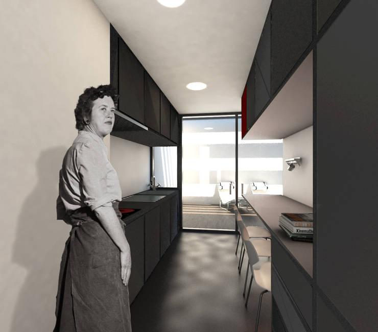 Küche von Q:NØ Arquitectos ,
