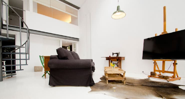 relax en atocha: Salones de estilo  de Make sense studio