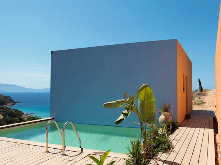 Villa ISAKY: Maisons de style de style Moderne par Paul Franceschi