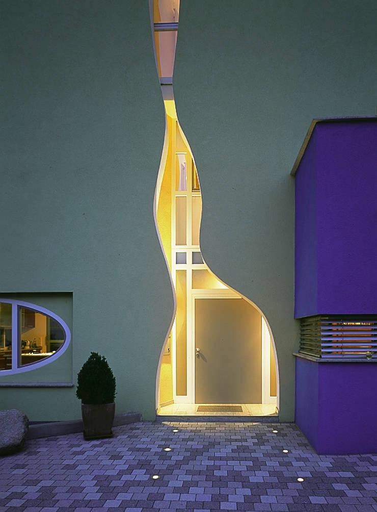 Casas de estilo  por Architektengruppe Numerobis,