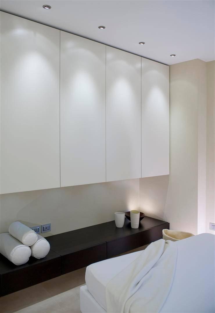 Appartamento MF: Camera da letto in stile  di Studio di Architettura SIMONE GIORGETTI
