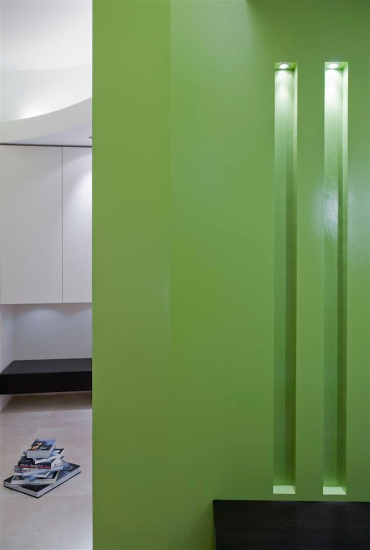 Appartamento MF: Soggiorno in stile  di Studio di Architettura SIMONE GIORGETTI