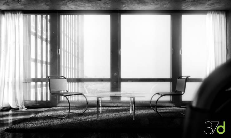 Lake Shore Drive - Mies van der Rohe: Edificios de oficinas de estilo  de 37d Architecture Office
