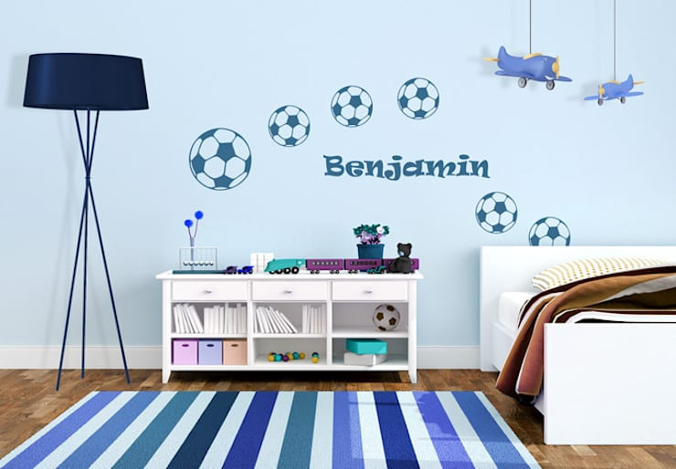 ideas verdes y futboleras para tu casa. Black Bedroom Furniture Sets. Home Design Ideas