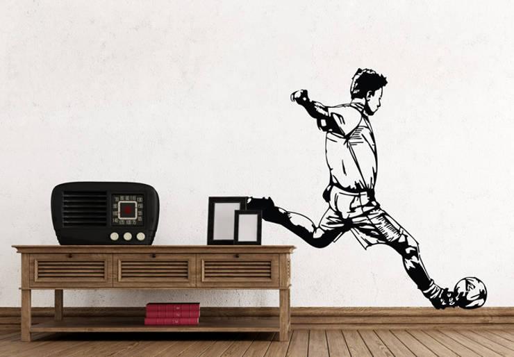 Стены и пол в . Автор – K&L Wall Art,