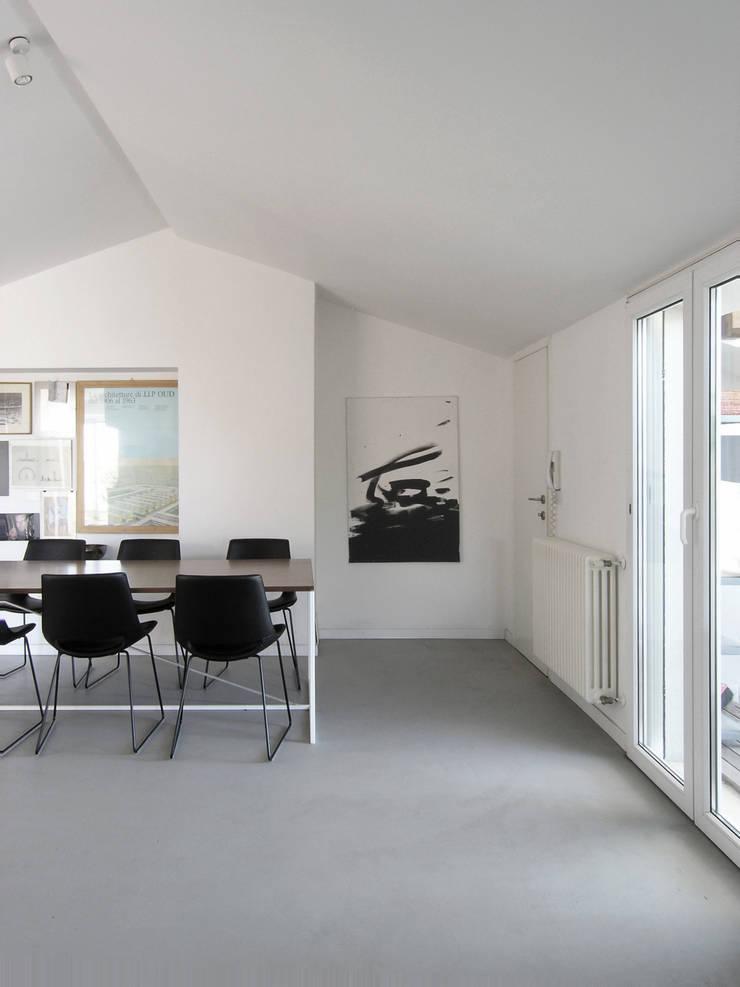 Oficinas y Tiendas de estilo  por Nuovostudio Architettura e Territorio,
