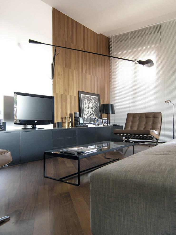 Salas de estilo  por Nuovostudio Architettura e Territorio,