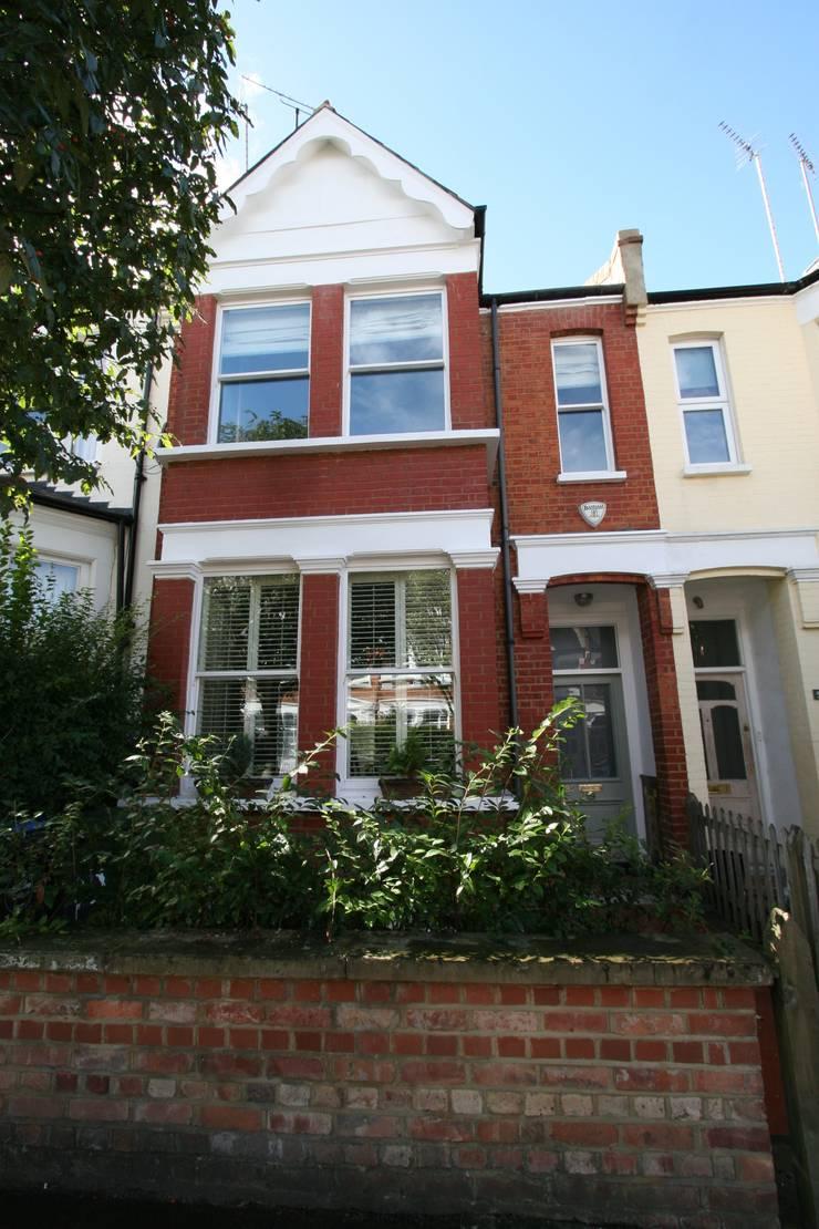 Transformed NW London Terrace :  Terrace house by Model Projects Ltd