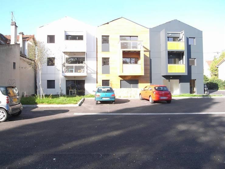 Casas de estilo moderno por Allegre + Bonandrini architectes DPLG