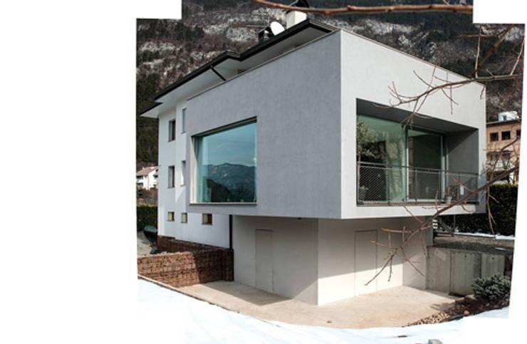 ampliamento casa R: Case in stile in stile Moderno di michele roccabruna architetto