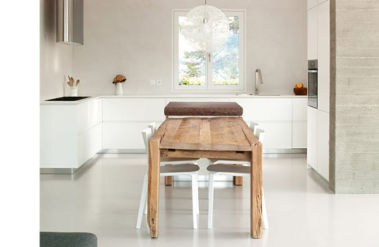 ampliamento casa R: Cucina in stile  di michele roccabruna architetto