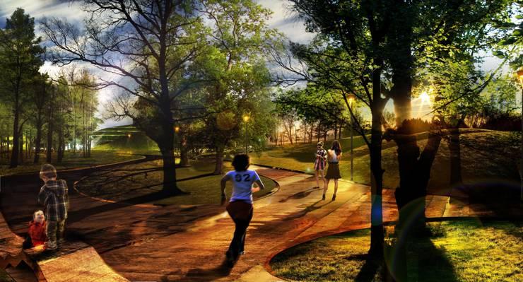 Khodynka Park:   von KLA kiparlandschaftsarchitekten GmbH