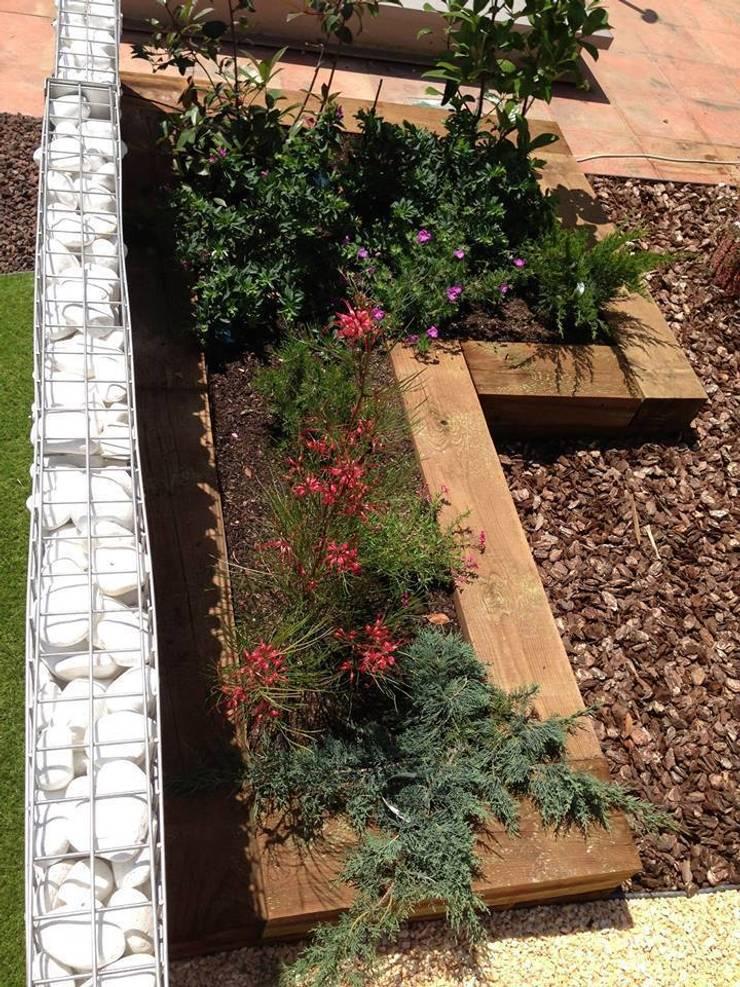 PAISAJISMO- XEROJARDINERÍA: Jardines de estilo  de VIVSA. VIVIENDA SANA