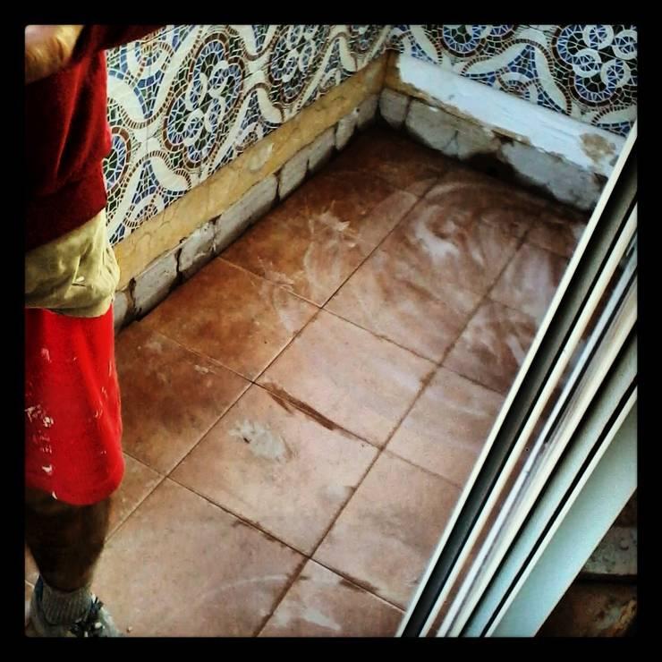 REFORMAS: Paredes y suelos de estilo  de VIVSA. VIVIENDA SANA
