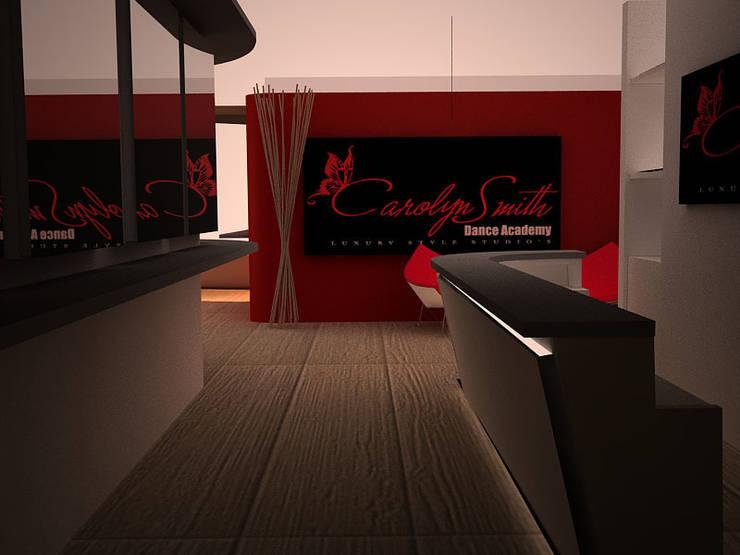 Carolyn Smith Dance Academy: Palestra in stile in stile Moderno di linea contemporanea  home