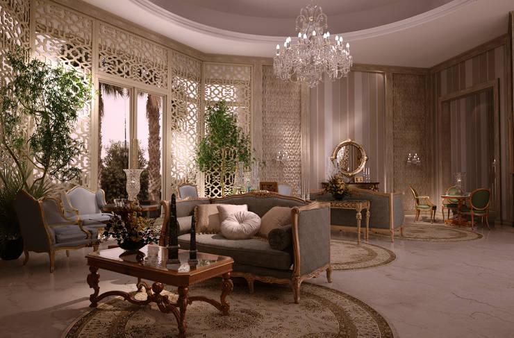 ausgefallene Wohnzimmer von Scultura & Design S.r.l.