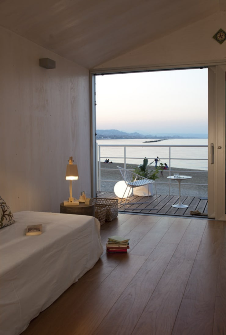 Dormitorios de estilo  por Studio Zero85, Mediterráneo