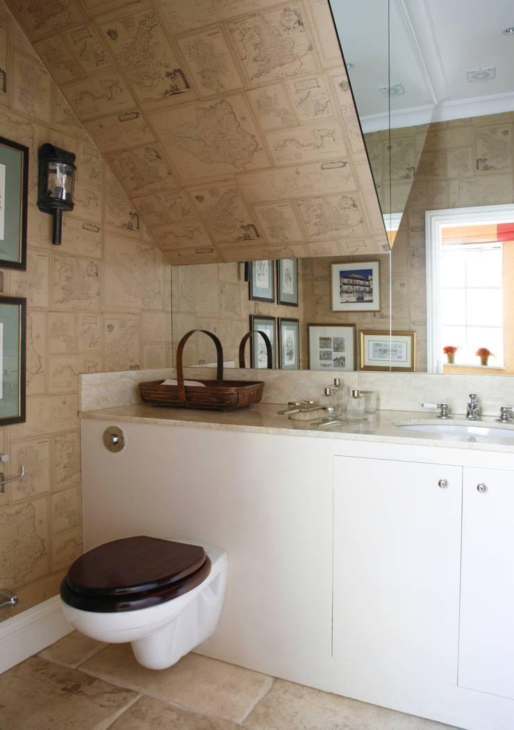 Wiltshire - Rural Retreat:  Bathroom by VSP Interiors