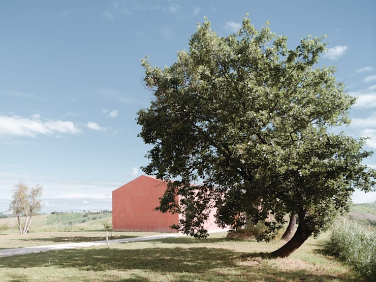 Study House Sarravarano: Case in stile  di Studio Zero85