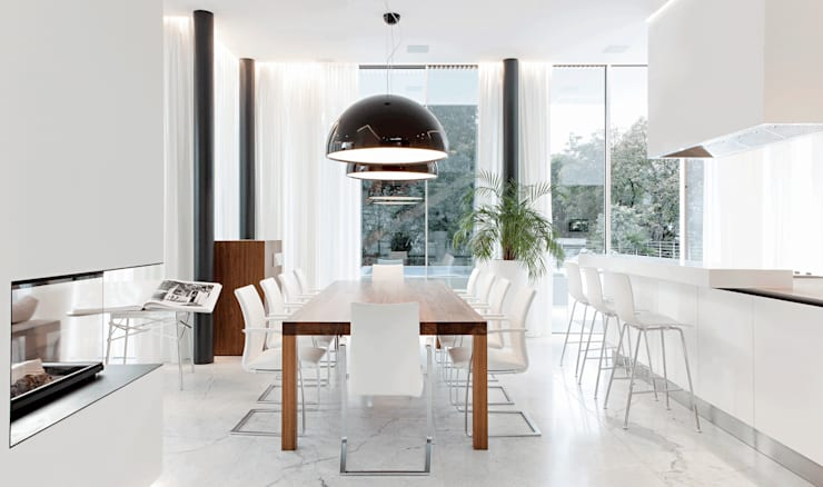 modern Dining room by monovolume architecture + design