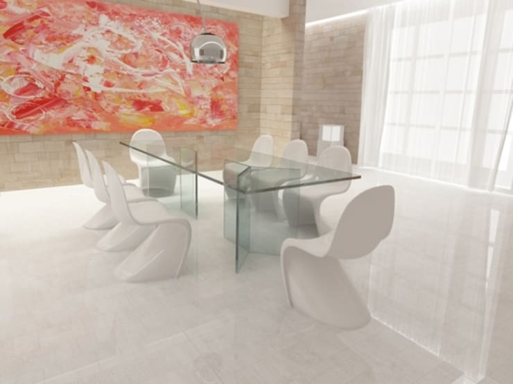 modern Dining room by lca-office